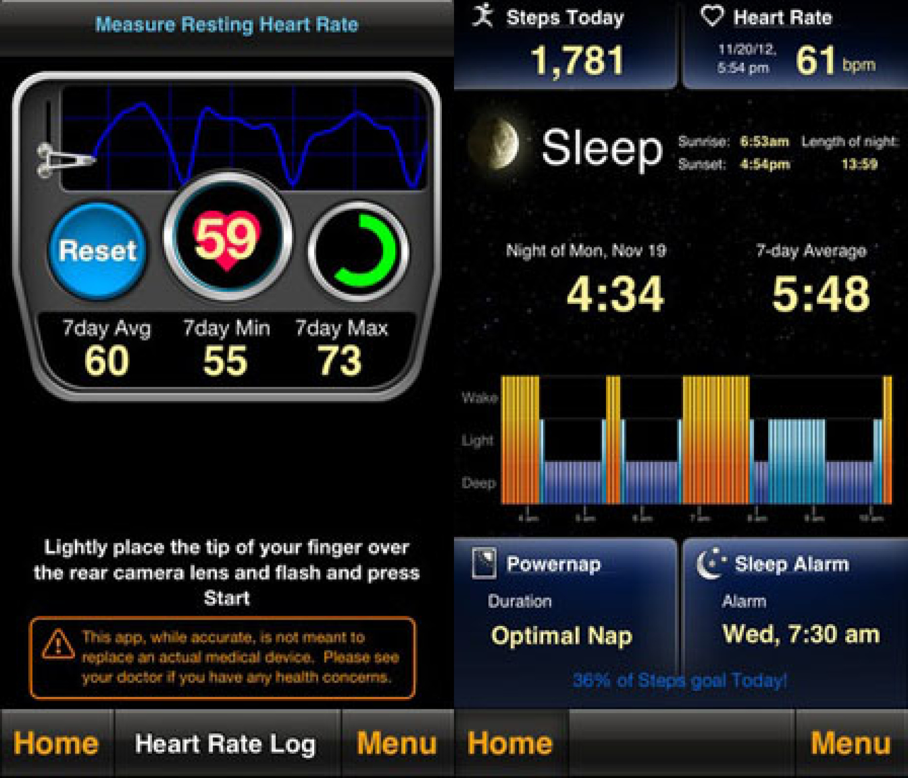 Sleep by MotionX Lets You Sleep in Peace