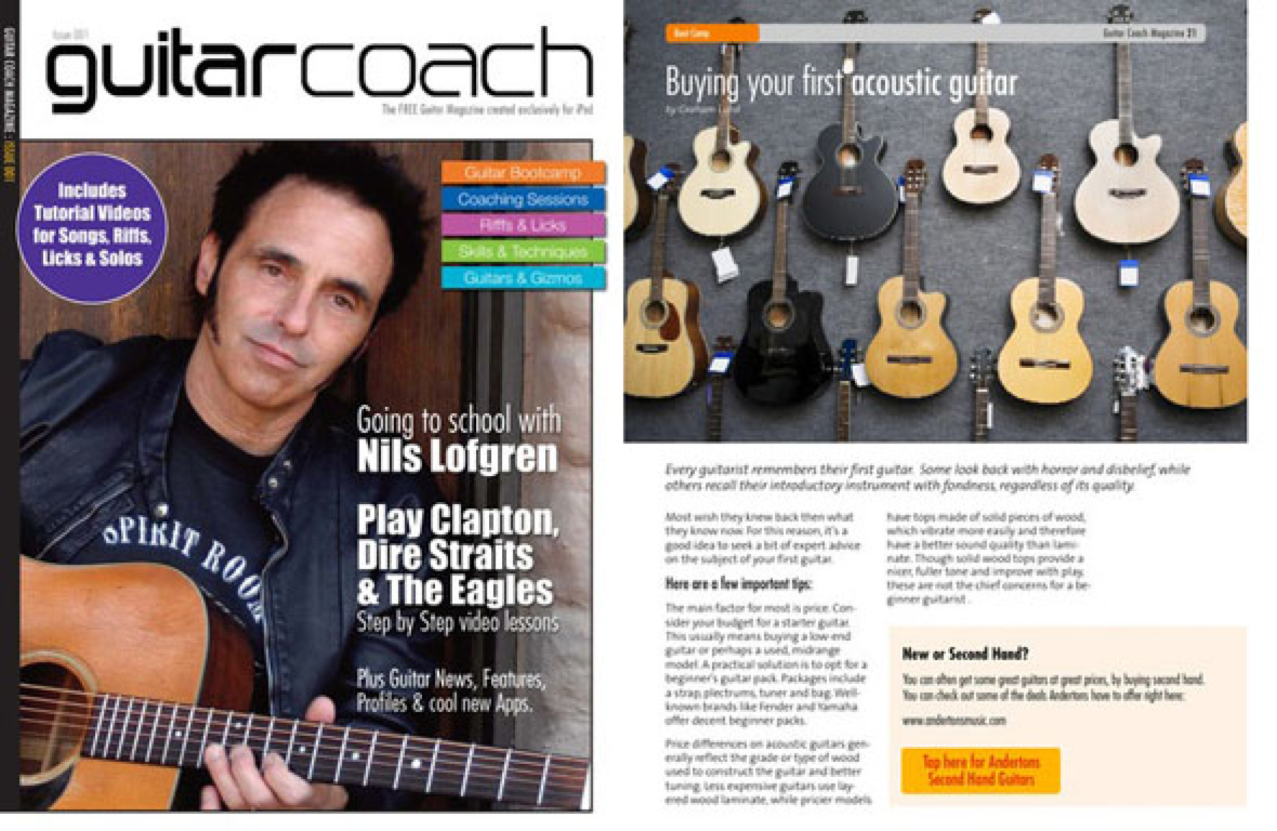 Guitar Coach Magazine – It's Time to Pick Up the Plectrum