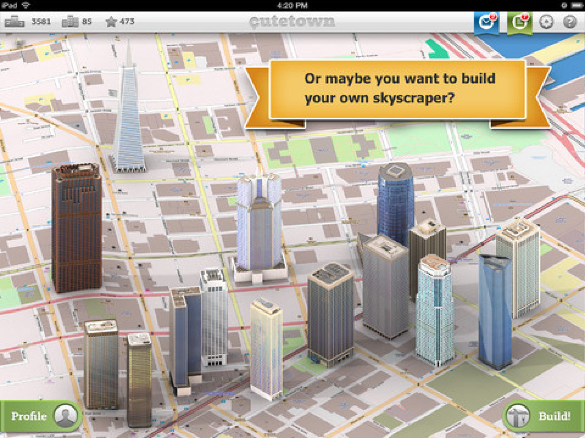 Cutetown San Francisco Takes Map Applications to the Next Level