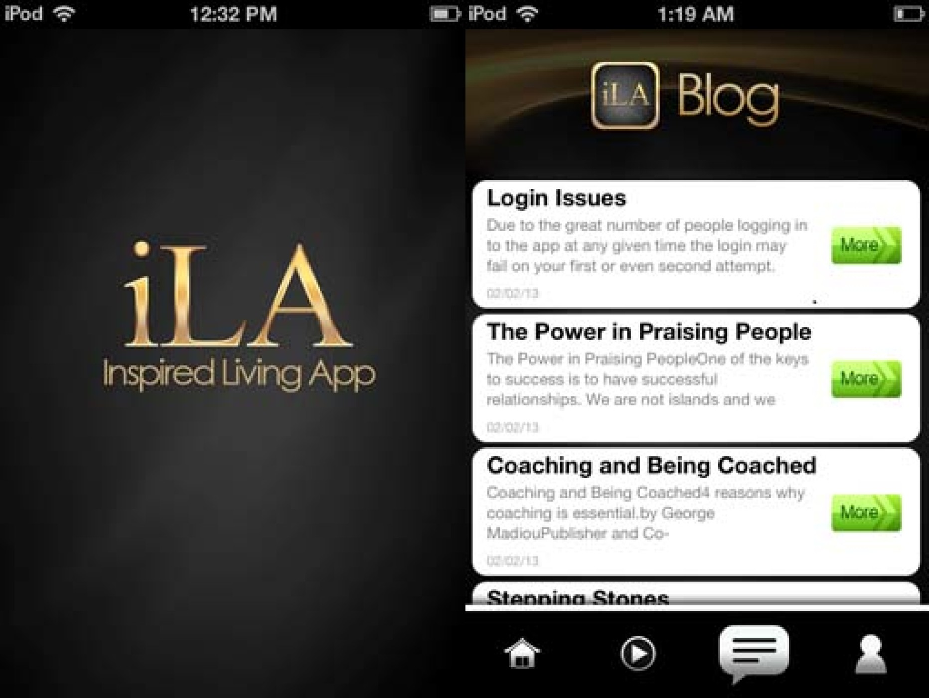 iLA – A Self-Development App