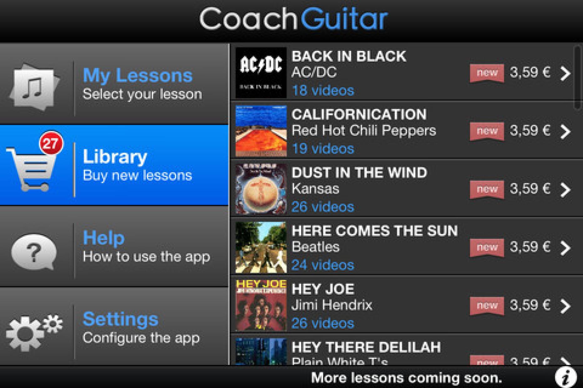 Coach Guitar App Trendifies Virtual Jamming