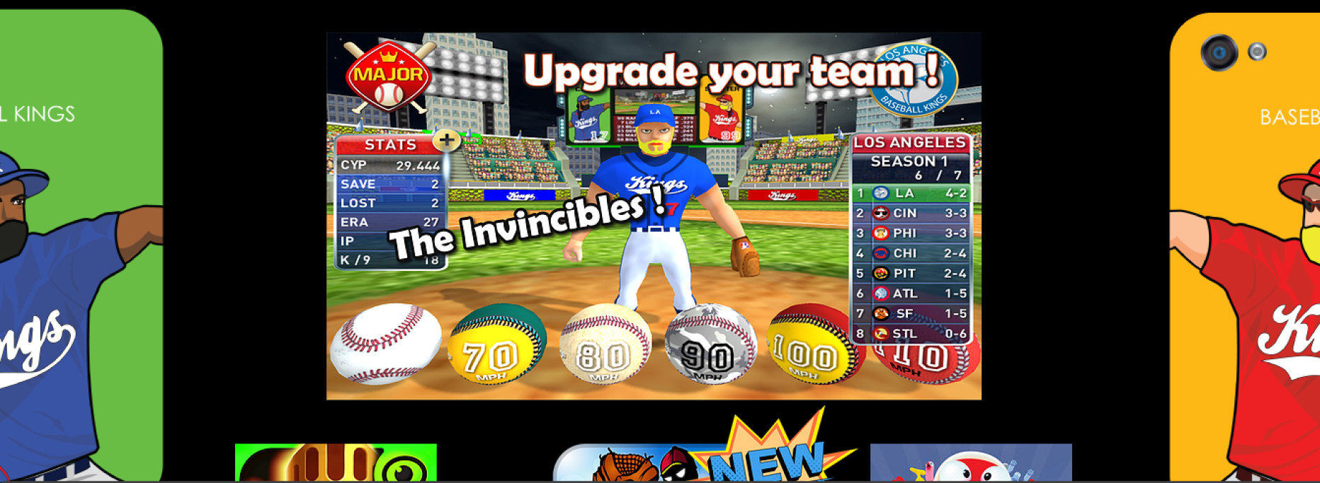 Baseball Kings – Practice Your Pitch on the Go!