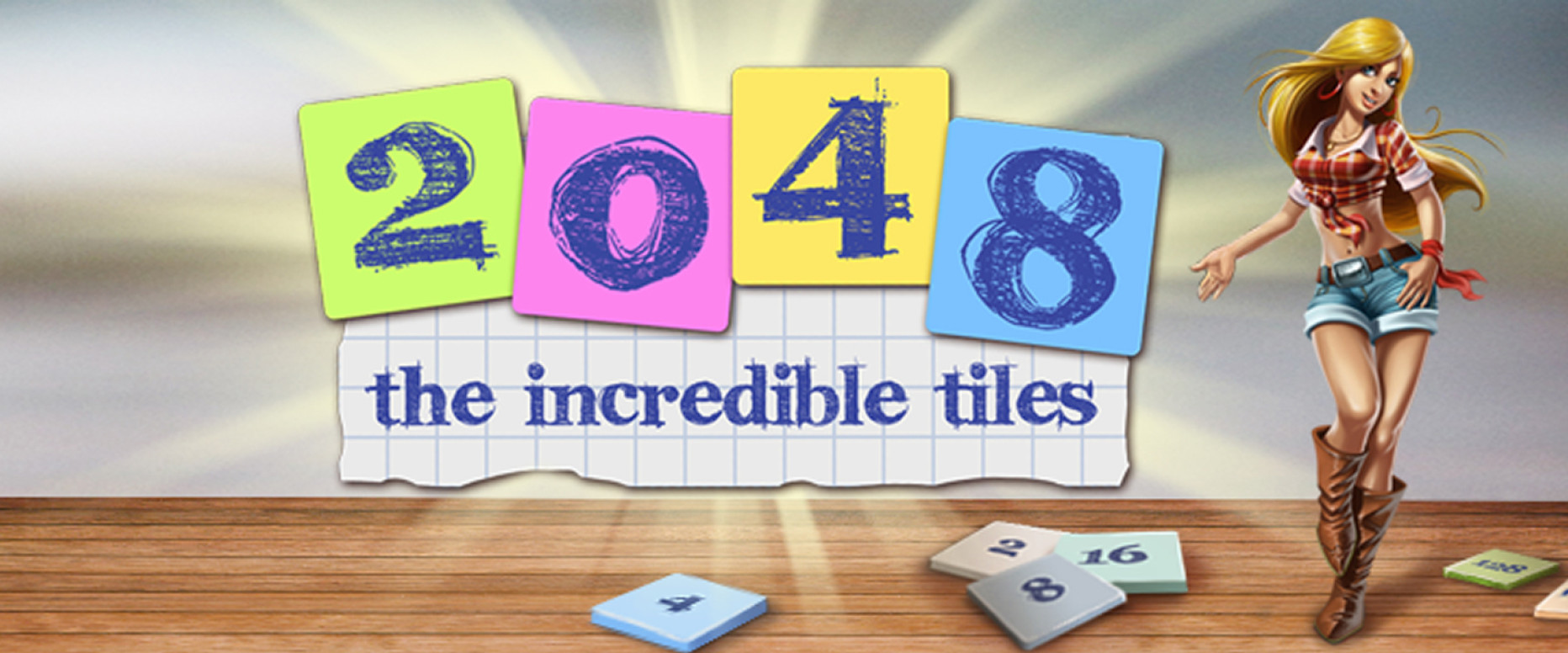 Playing with the Power of 2 – The Incredible Tiles 2048