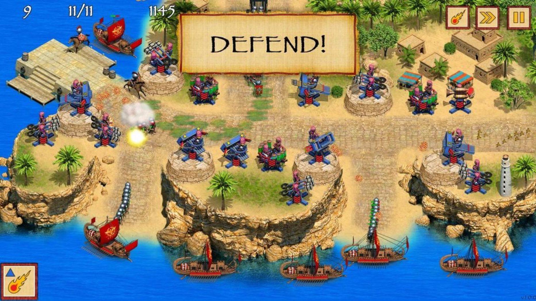 Defense of Egypt – Cleopatra mission