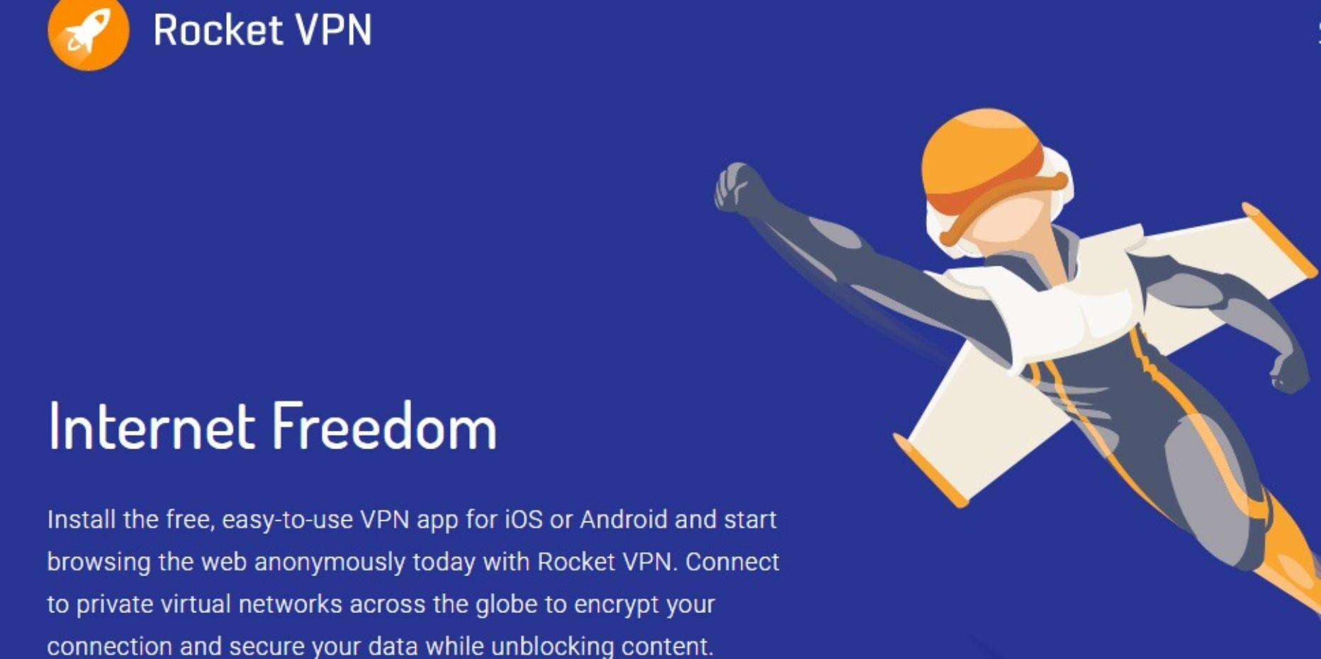 Rocket VPN – Surf the Net Safely