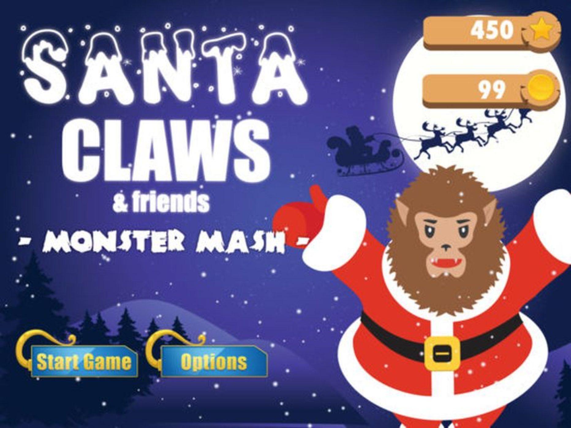 Santa Claws – Seasonal Gaming Fun Bringing Monsters into the Mix