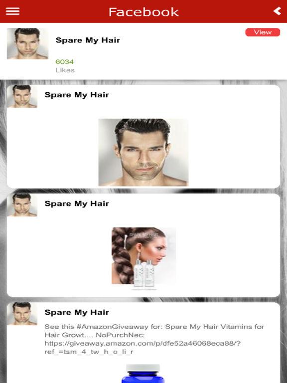 Spare My Hair app