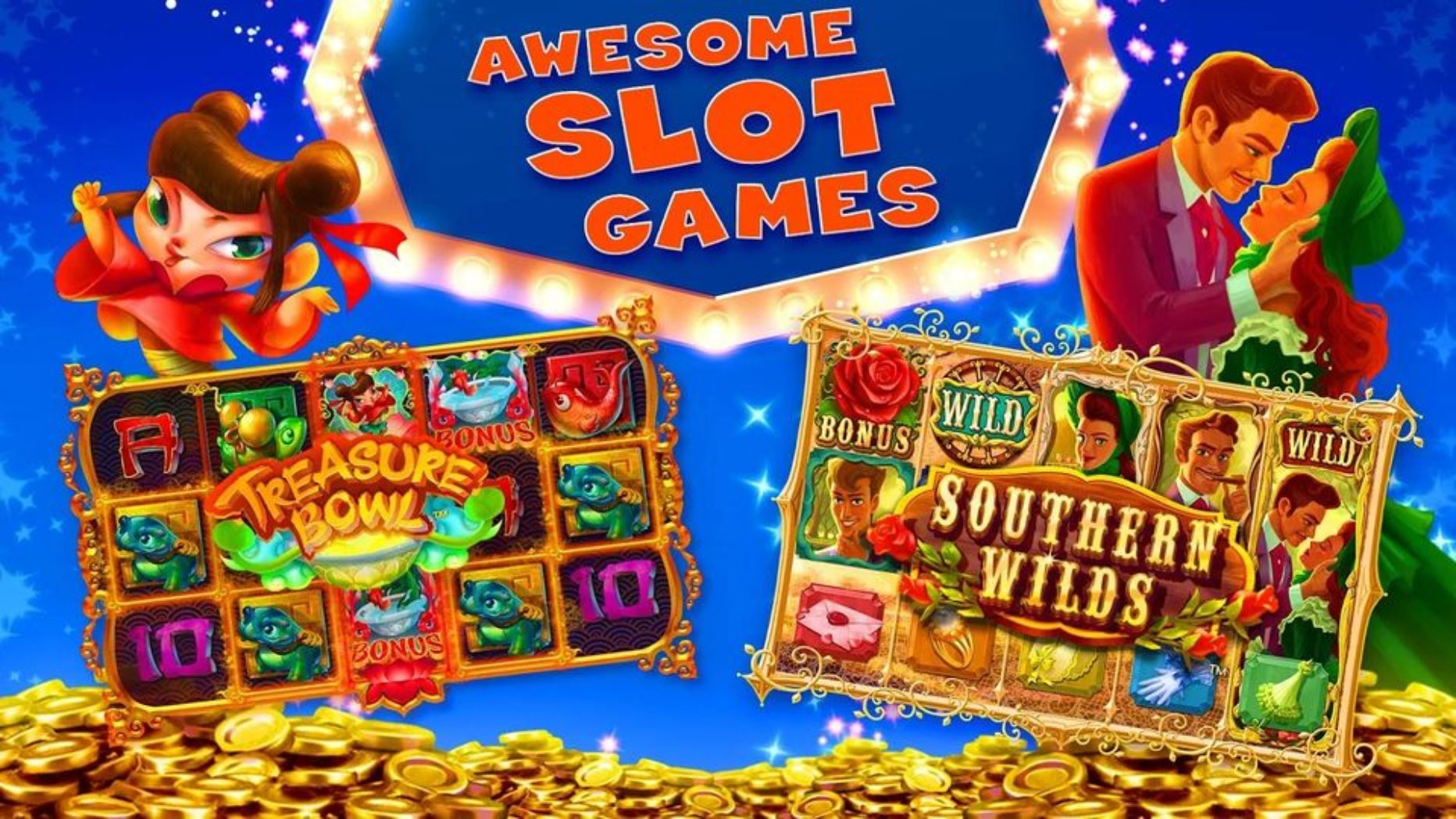 myVEGAS Slots – Play like you're in Vegas – and then Go!