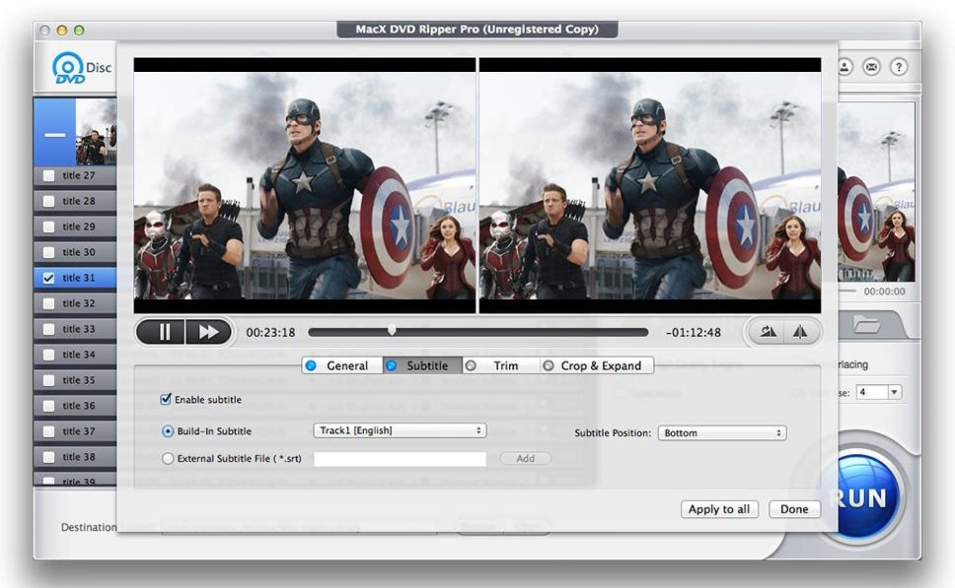 Backup DVD in Only 5 Minutes with MacX DVD Ripper Pro