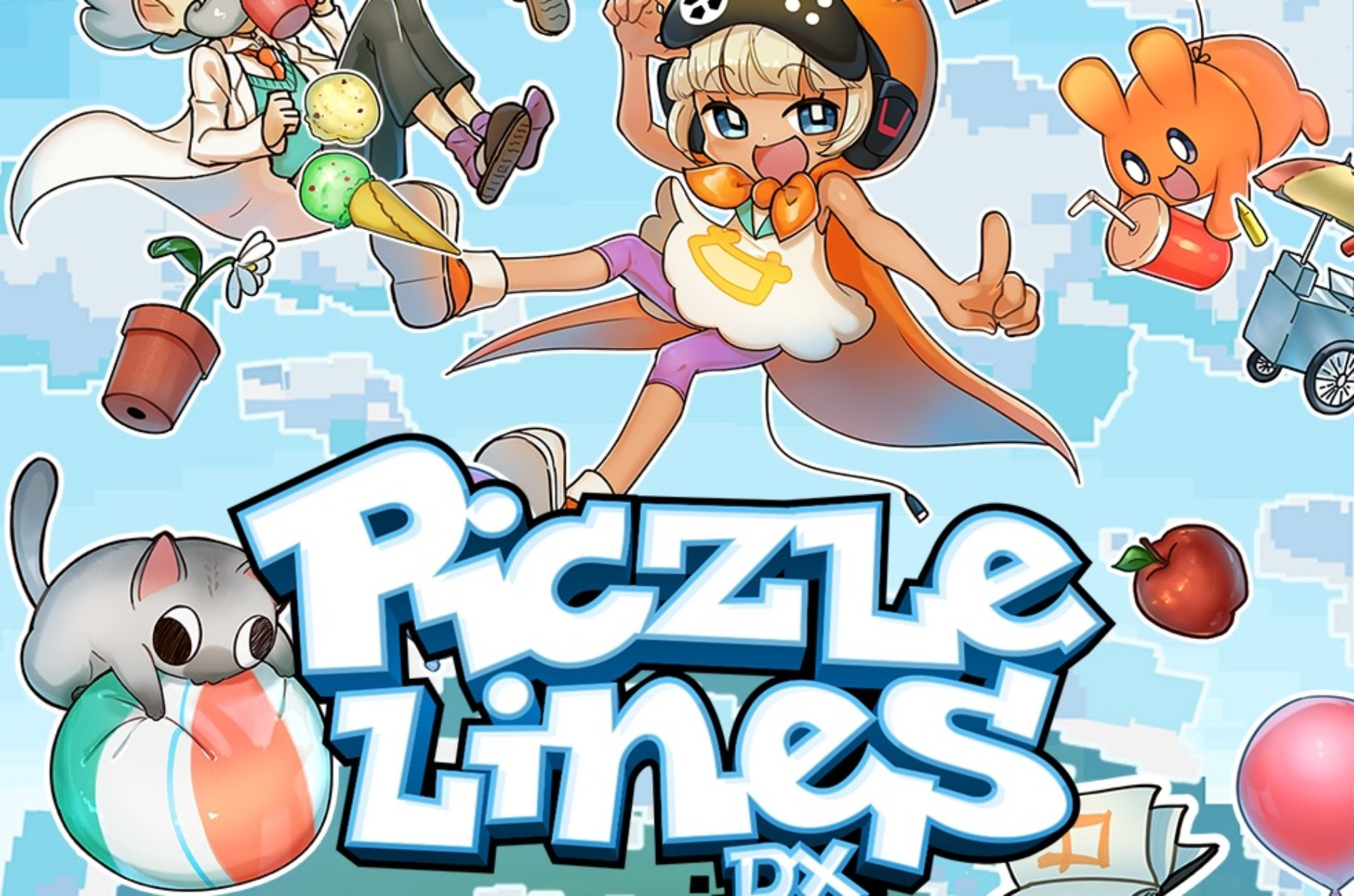 Piczle Lines DX – Strategically Place Segments to Connect the Dots and Solve Puzzles