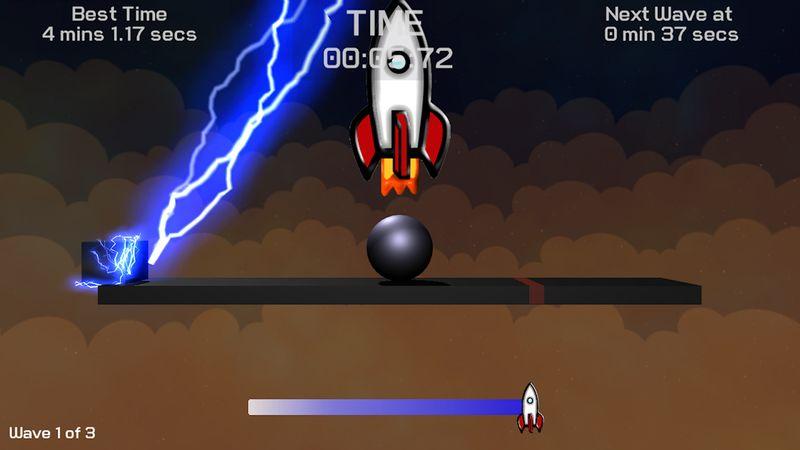 A Balance the Ball app