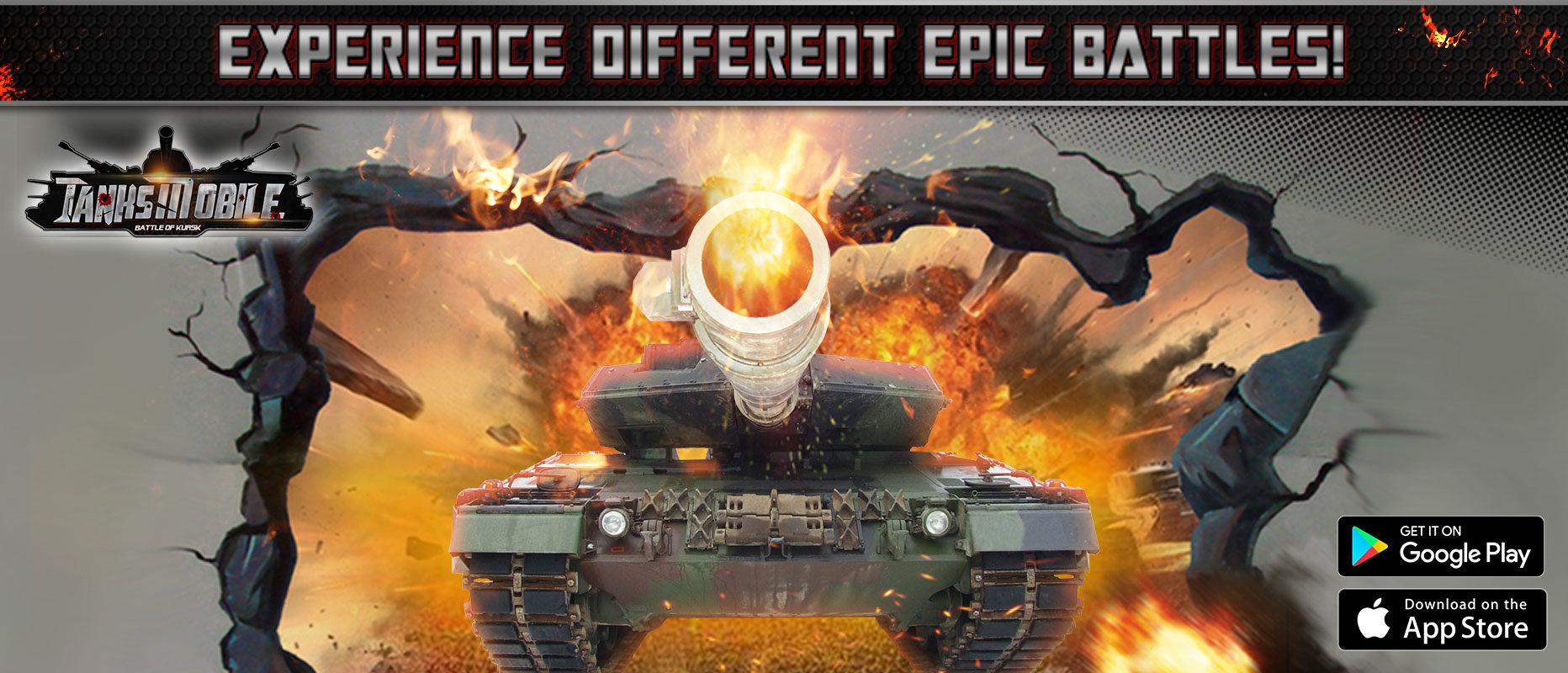 Talking Tank Wars in Tanks Mobile: Battle of Kursk