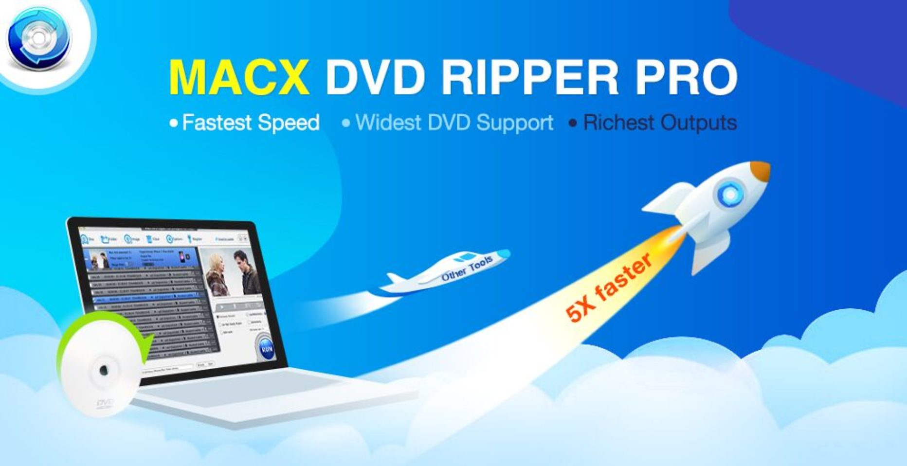 MacX DVD Ripper Pro – Save Favorite DVDs for Viewing, Anytime!