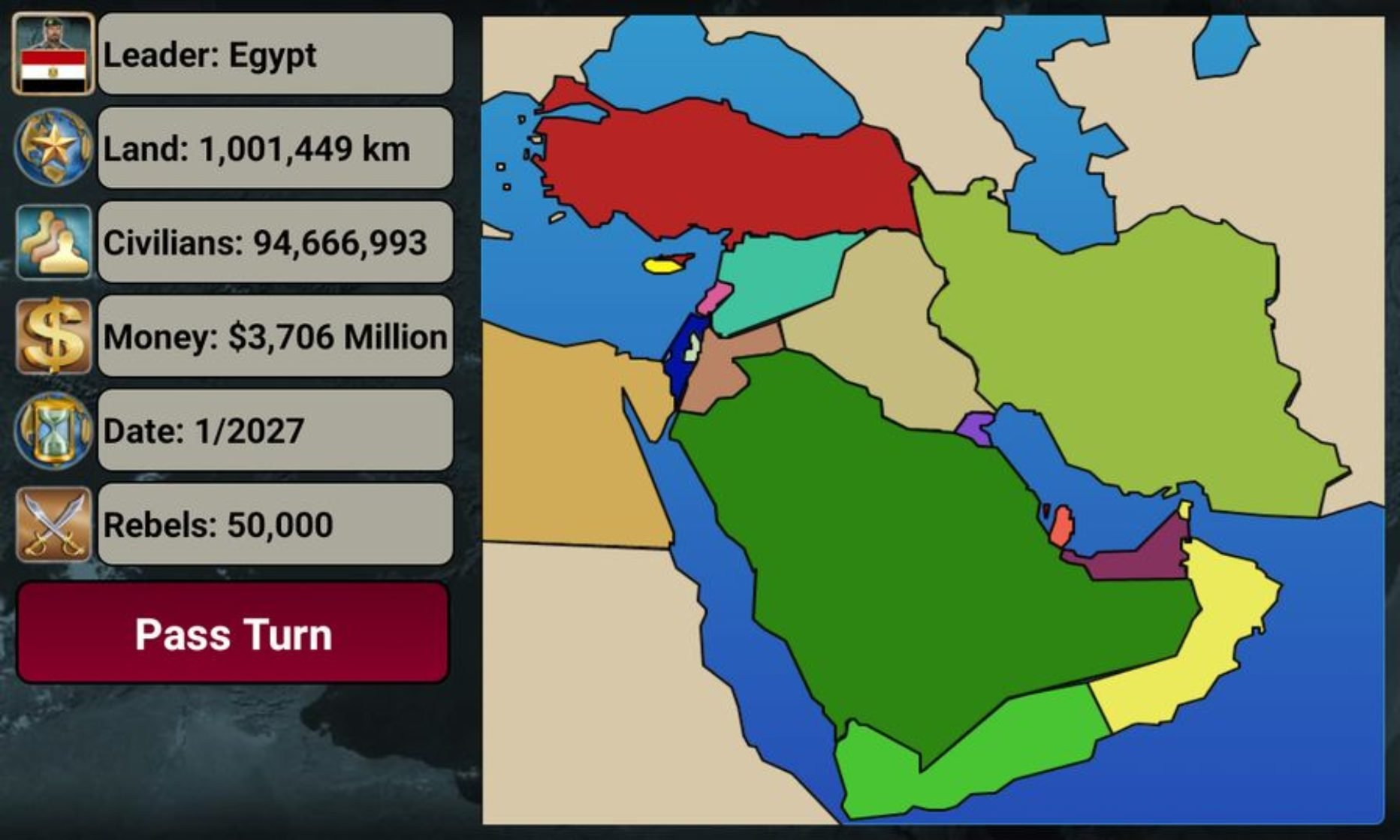 Middle East Empire 2027 – Rule Them All