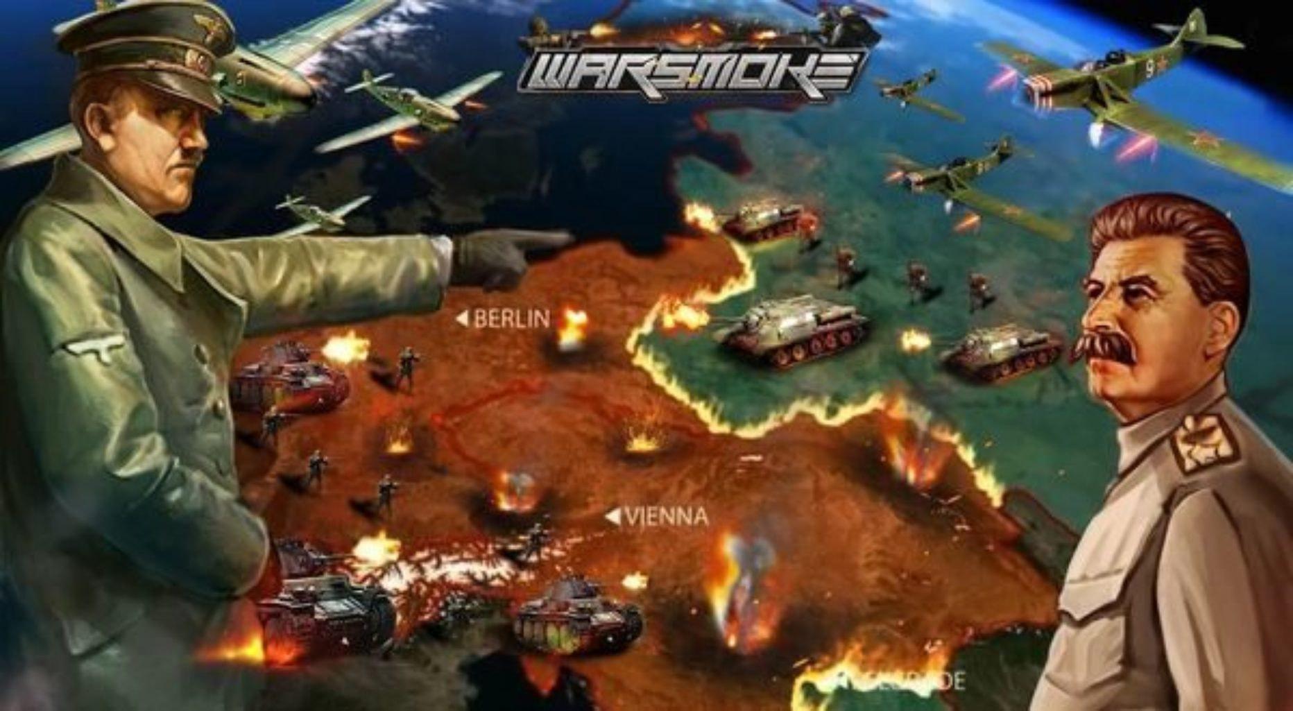 Warsmoke – Epic MMO SLG – Post World War Game that Tests Your Tactical Knowhow